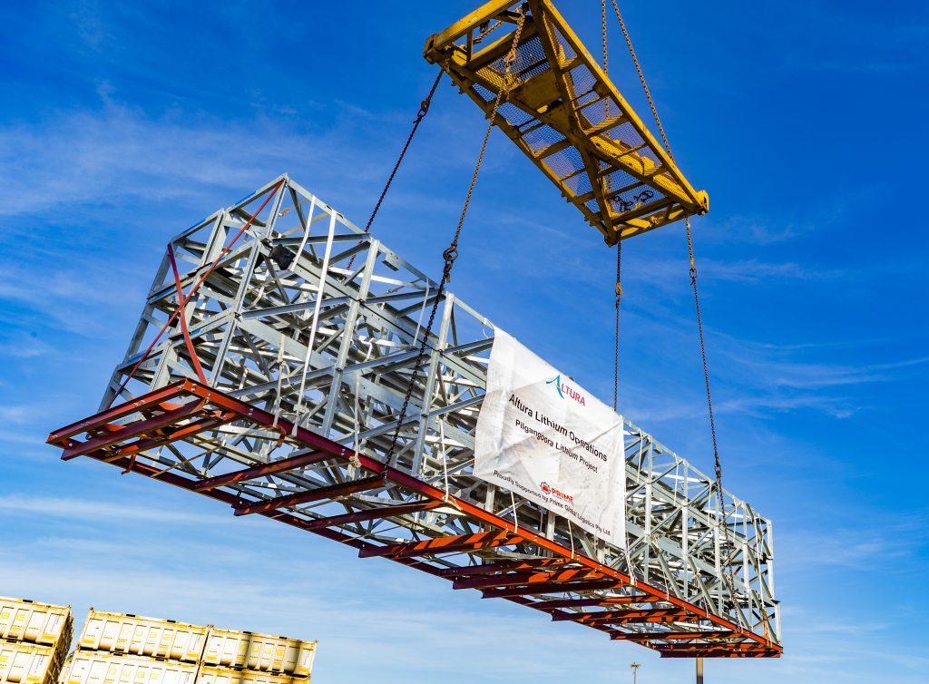 Global Logistics Perth Construction project